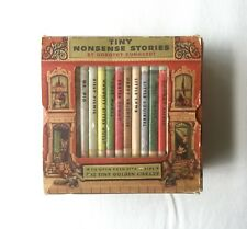 "1948 ""Tiny Nonsense Stories"" Dorothy Kunhardt, Tiny Golden Library Complete Box!"