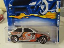 Hot Wheels Ford Escort Rally #192 Silver