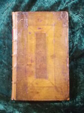 FINE CONTEMPORARY LEATHER BOUND HUMPHREY PRIDEAUX ECCLESIASTICAL TRACTS 1716