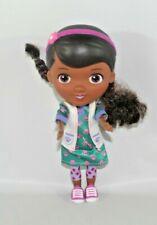"Doc McStuffin 9"" Doll Toy Green Dress Polka Dot Leggins Lab Coat"