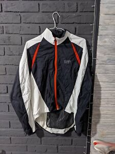 Gore Bike Wear L Large Men's  Windstopper 100% Nylon G Biking Cycling Jacket Win
