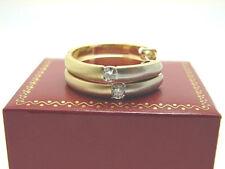 Brillant Creolen 750 Gold 18 Karat Diamant Ohrringe Brillant Klapp Creolen