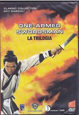 3 Dvd Box Cofanetto ONE ARMED SWORDSMAN ~ LA TRILOGIA ~ LA MANO SINISTRA DELLA V