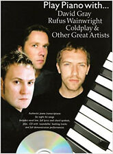 Play Piano with David Gray, Rufus Wainwright, 34;Coldplay34; and Other Great Art