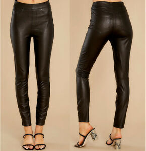 SPANX Faux Leather-Like Ankle Skinny Pants