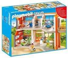 Playmobil 6657 Furnished Children's Hospital Playset NEW SEALED WORLDWIDE