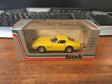 Model Box 1/43 Scale #8417 Ferrari 275 GTB4 'Stradale' - Yellow - Boxed