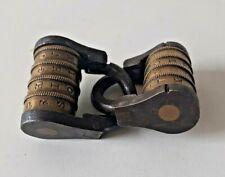 Deux ancien cadenas à rouleau XIXe