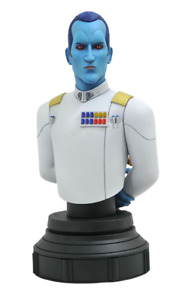 Star Wars Rebels Grand Admiral Thrawn Gentle Giant Bust - In Stock - UK Seller