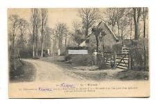 Kemmel - La Warande, lane, house - old West Flanders, Belgium postcard