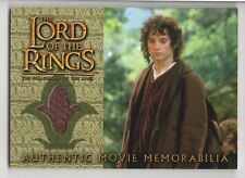 LOTR Memorabilia Frodo's Travel Jacket from The Fellowship of the Ring, NM