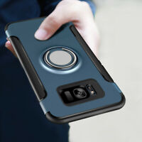 Shockproof Ring Holder Phone Case Cover For Samsung Galaxy S8 S9 Plus S7 Note 8