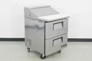 Used True Manufacturing TSSU-27-08D-2 Refrigerated Sandwich Prep Table   661994