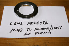 Generic Lens Adapter M42 to Sony / Minolta A-Mount