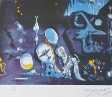 """SALVADOR DALI """"Idylle Atomique"""" HAND NUMBERED PLATE SIGNED LITHOGRAPH Hiroshima"""