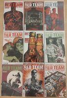 Red Team: Double Tap, Center Mass 1-9, Garth Ennis Dynamite Comics