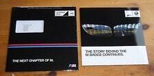 BMW M3 Saloon & M4 Coupe Prelaunch UK Market Brochure December 2013