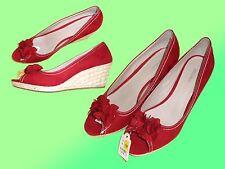 Sandalias De Mujer Con Plataforma Tacones Altos Zapatos Cuña Talla 40 NUEVO