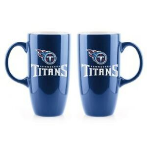 ONE TENNESSEE TITANS, HIGH QUALITY, BONE CHINA COFFEE MUG FROM DUCKHOUSE SPORTS