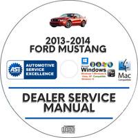 Ford Mustang 2013-2014 Factory Service Repair Manual
