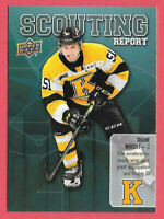 2019-20 Shane Wright Upper Deck CHL Rookie Scouting Report - Kingston Frontenacs