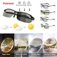 Fahren Polarisierte Sonnenbrillen Tag Nacht Vision Photochrome Sonnenbrillen