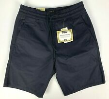 NWT Levis Skateboarding Drawstring Easy Shorts sz S Navy