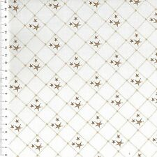"(€ 16,00/m) Patchworkstoff - "" Stars ""  - 25 x 110cm"