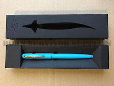 Fisher 'Cap-O-Matic' Military Space Pen Blue - Waterproof NASA Astronaut Gift
