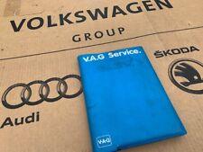 Mk1 Golf GTI Cabriolet Blue Book User Manual & Wallet