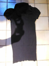 "Damen Pullunder / T-Shirt ""One love-pimkie"" Gr. M/38, schwarz, Long  TOP"