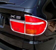 2007-2010 BMW X5 E70 Chrome Tail light Trim Bezels