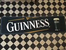 GUINNESS bar mat runner  - rubber backed NEW