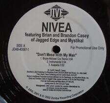 "Nivea ~ Dont Mess con mi hombre ~ 12"" Single Usa prensa promo"