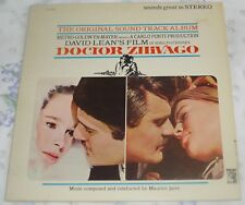 DOCTOR ZHIVAGO (Maurice Jarre) rare original stereo lp (1965)