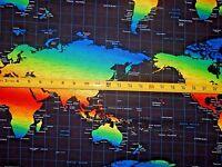 Map Brite World Timeless Treasures C 5121