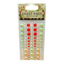 Dovecraft Sweet Paris Adhesive Pearls for cards and crafts
