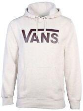 Vans Men's Classic Vans Skateboarding Pullover Hoodie-Oatmeal Heather-2XL