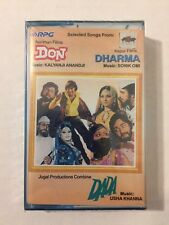 SEALED Don Bollywood Soundtrack Cassette Tape New Kalyanji Anandji Dharma Dada