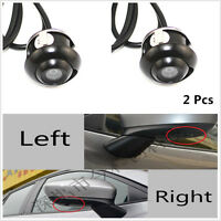 View CCD 360° Eyeball Reverse Backup MINI Camera Waterproof Car Front/Side/Rear