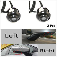 View CCD 360° Eyeball Reverse Backup MINI Camera Waterproof Car Front/Side/Rear