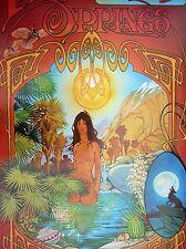 Vtg ROCK ROLL LSD Era Psychedelic 70's NUDE ACID TRIP LSD Rare OGDEN POSTER ONS