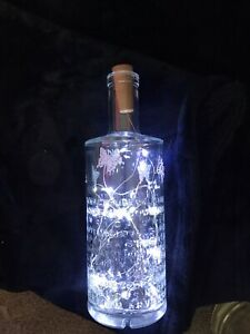 Light Up Butterfly Bottle