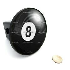 "2"" Tow Hitch Receiver Cover Insert Plug for Most Truck & SUV - LUCKY 8 BALL"