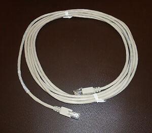 Sun Brand Ethernet Cable P.N. 530-1871-04 13 Feet Long Connectors have SUN Logo