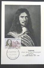 FRANCE PREMIER JOUR FDC YVERT 1258    TURENNE    0,20+0,10F    SEDAN    1960