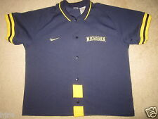 Michigan Wolverines UM Basketball Warmup Nike Jersey XL mens