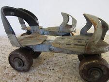 Vintage, Pair Of, Clamp On, Child'S Steel Roller Skates