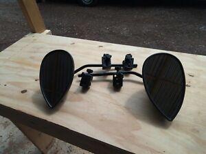 Milenco aero Caravan Towing Mirrors Pair