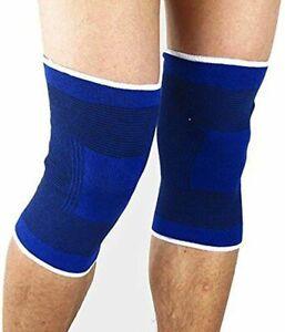 Pair of Elbow Arm Knee Back Bandage Sports Brace Injury Gym Support UK Stock New